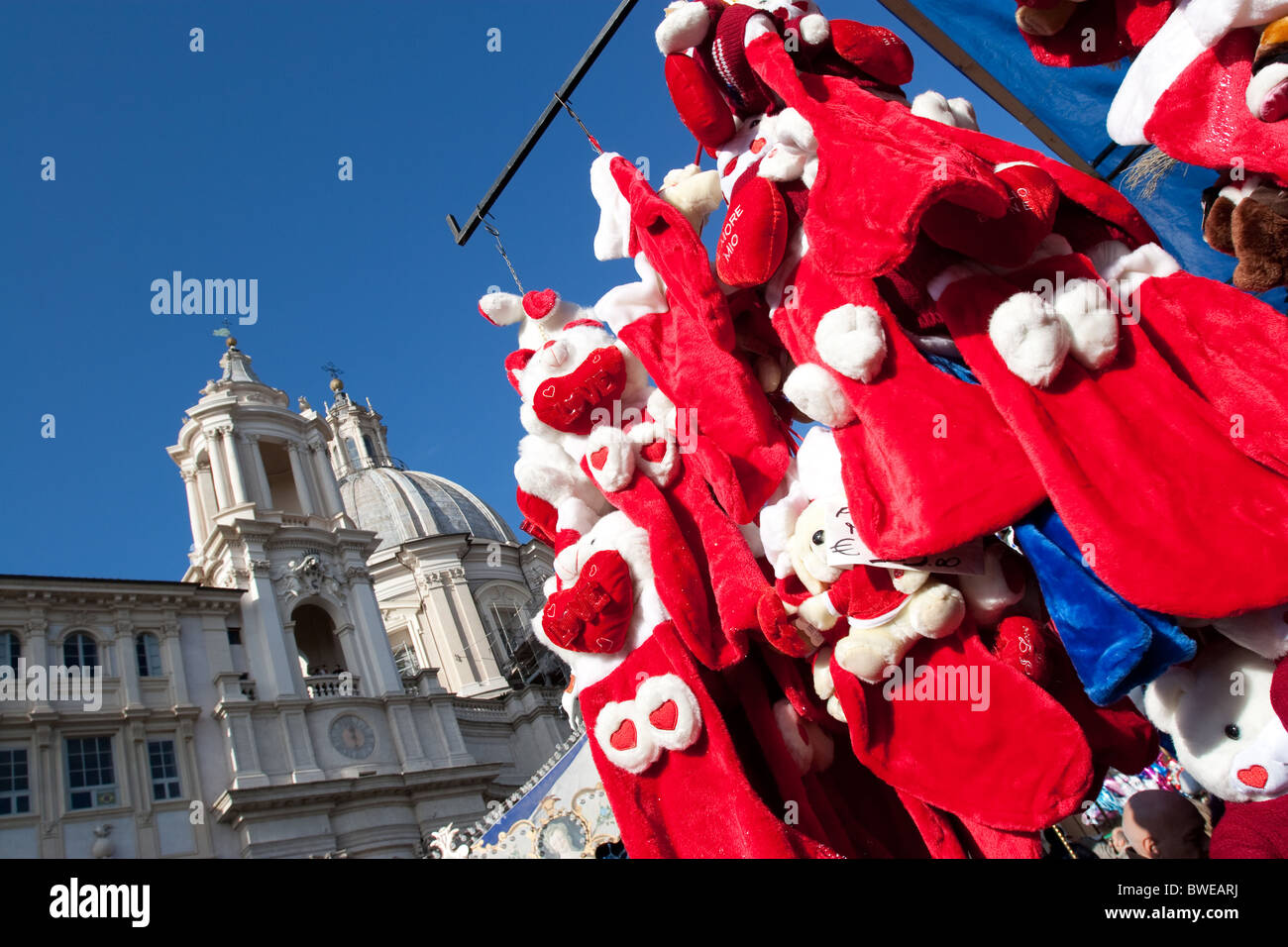 epiphany goods navona christmas decorations italy puppet rag doll puppets in navona square festivity celebration christmas time - How Does Italy Celebrate Christmas