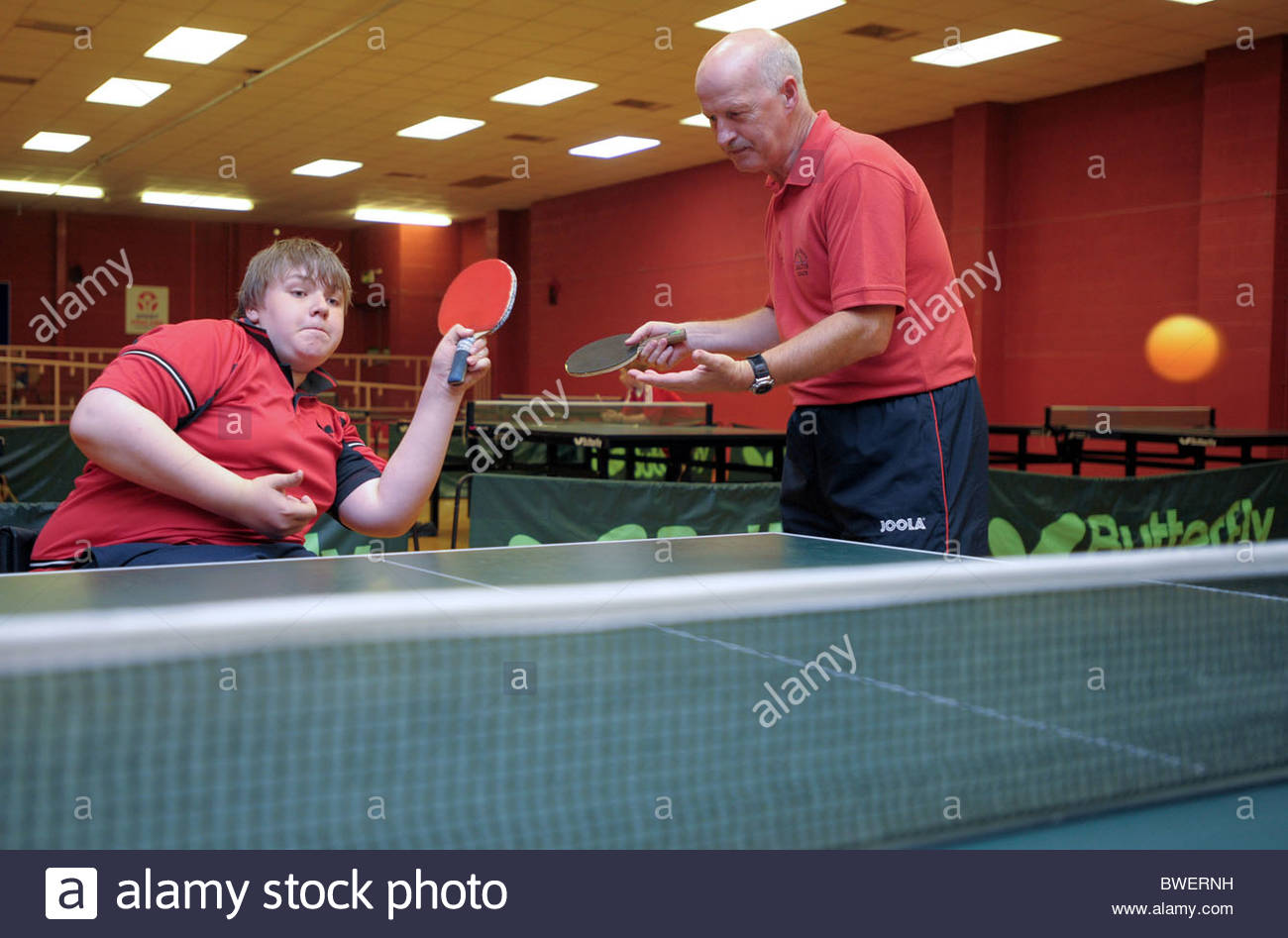 table tennis games for pe