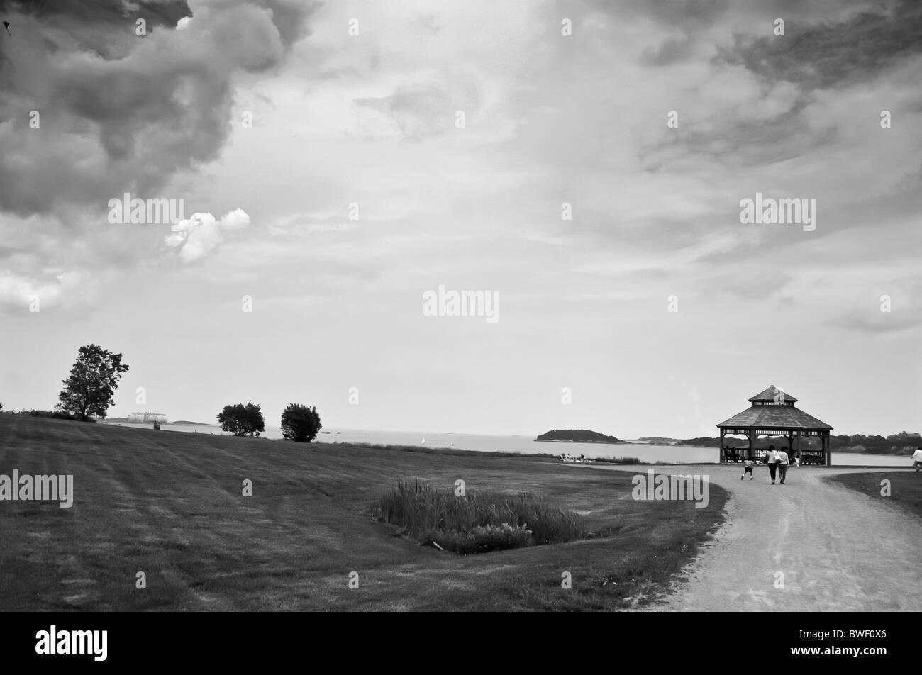 Summer Storm - Stock Image