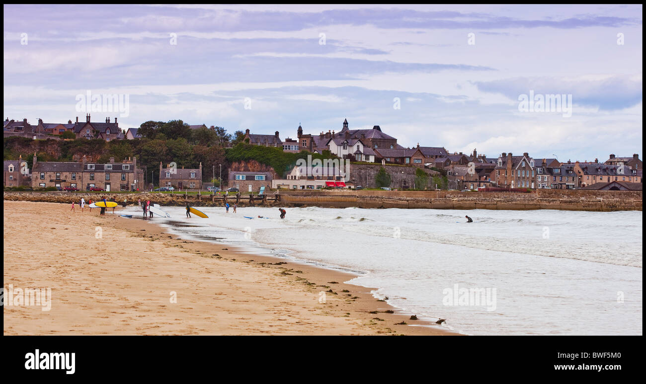 Beach at Lossiemouth,Moray,Scotland - Stock Image
