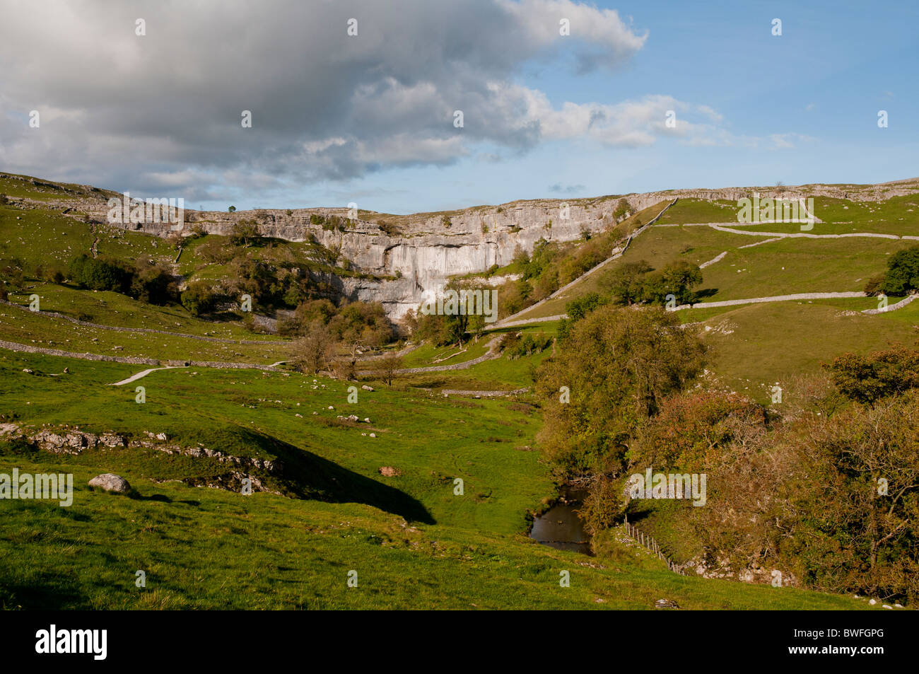 Malham, North Yorkshire, United Kingdom. - Stock Image