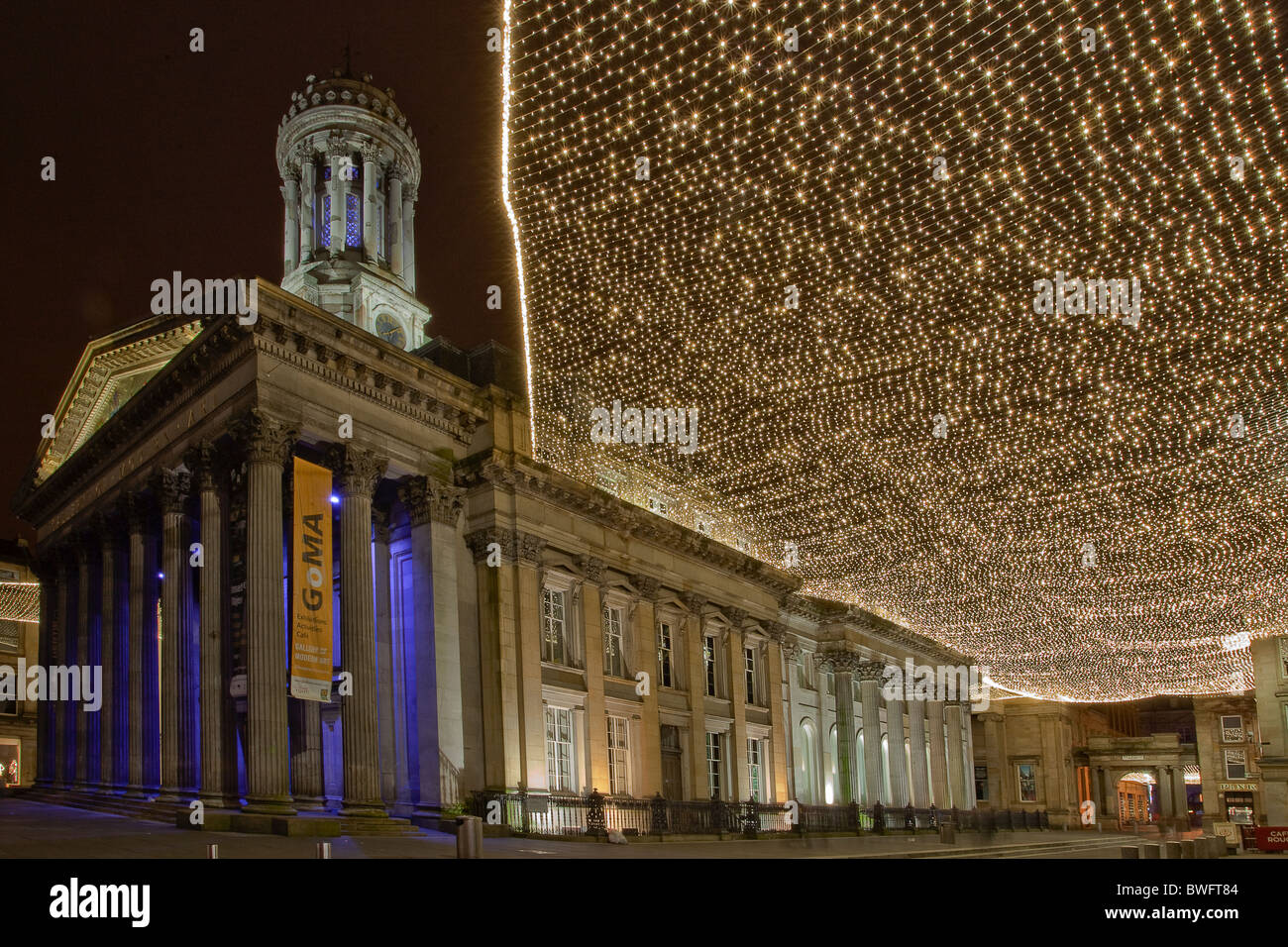 GOMA by Night - Stock Image