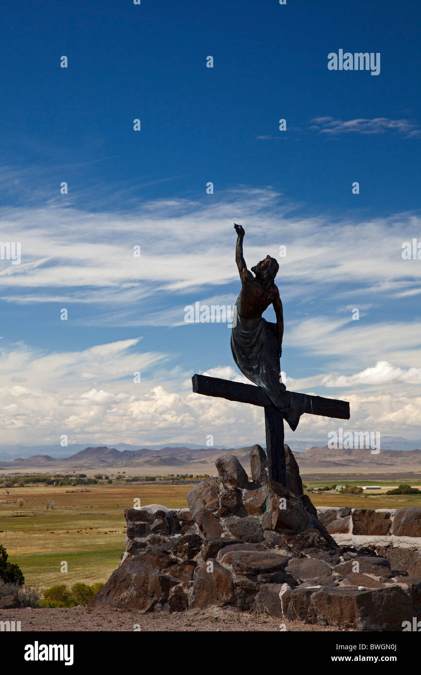 Shrine of the Stations of the Cross - Stock Image