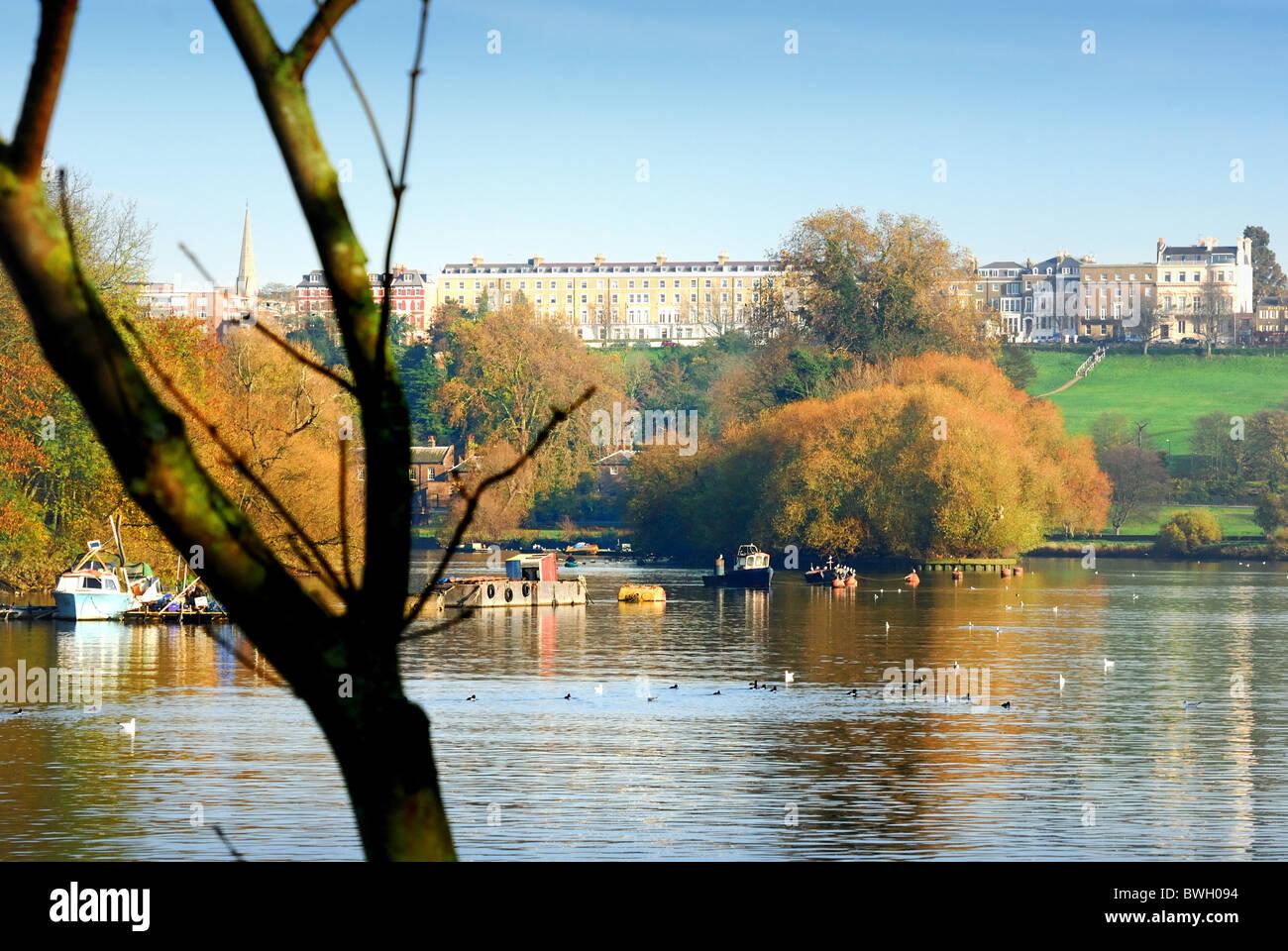 Richmond on Thames , Surrey ,London UK Stock Photo
