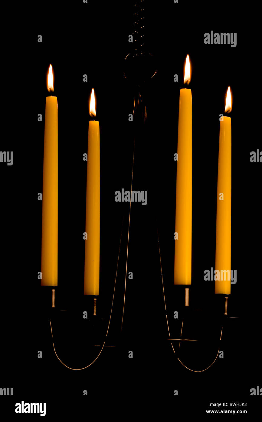 Candlestick - Stock Image