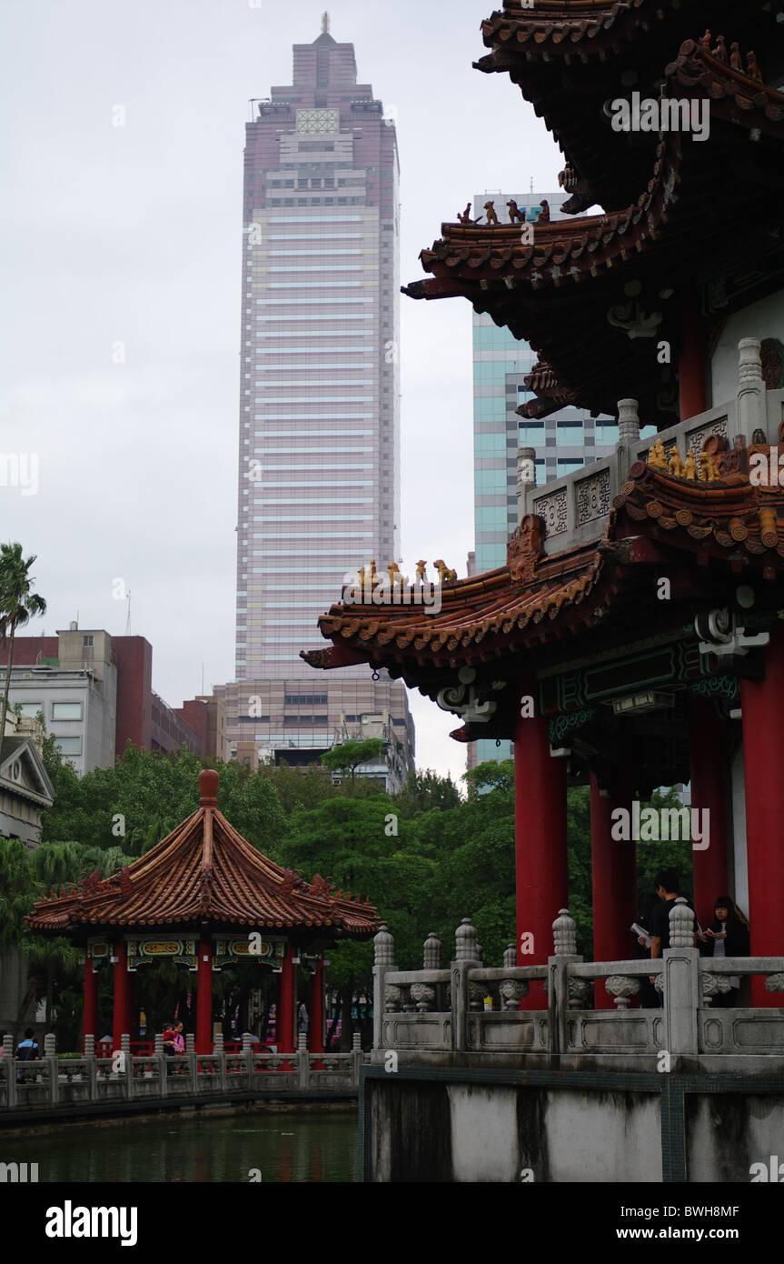 Taipei contrasts - Stock Image