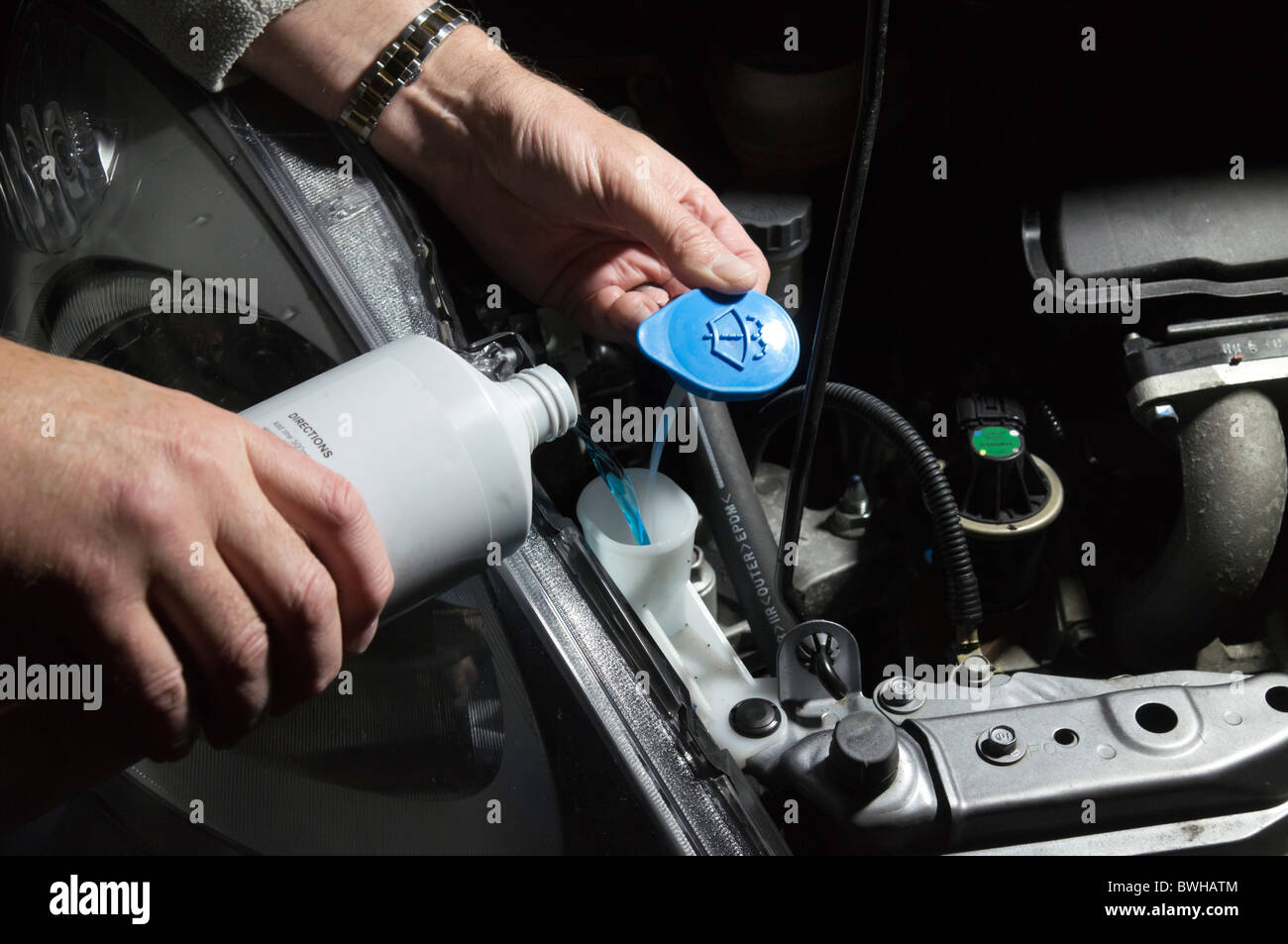 Washer Fluid Stock Photos Washer Fluid Stock Images Alamy