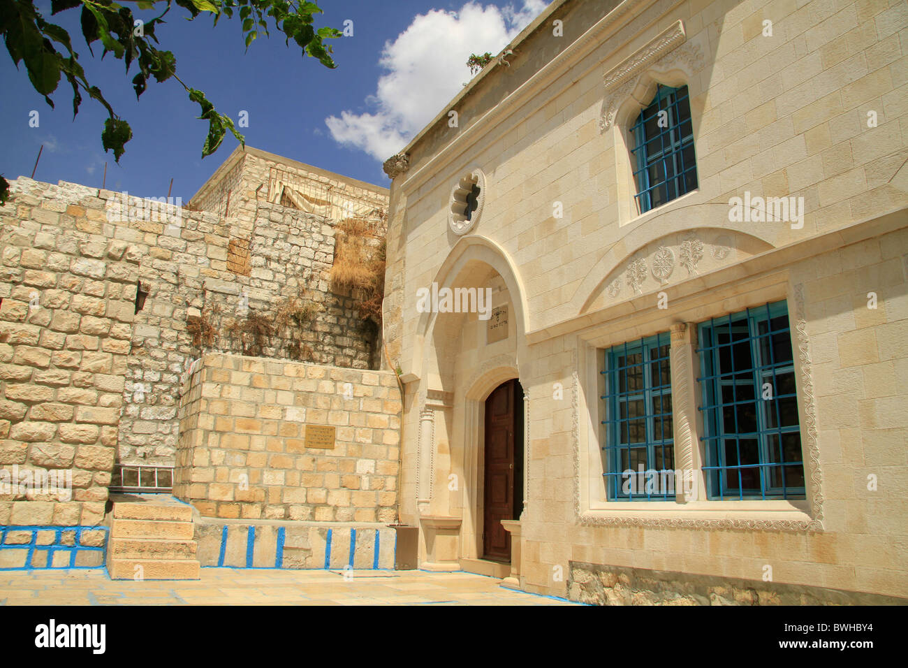 Israel, Upper Galilee, Abuhav Synagogue in Safed - Stock Image