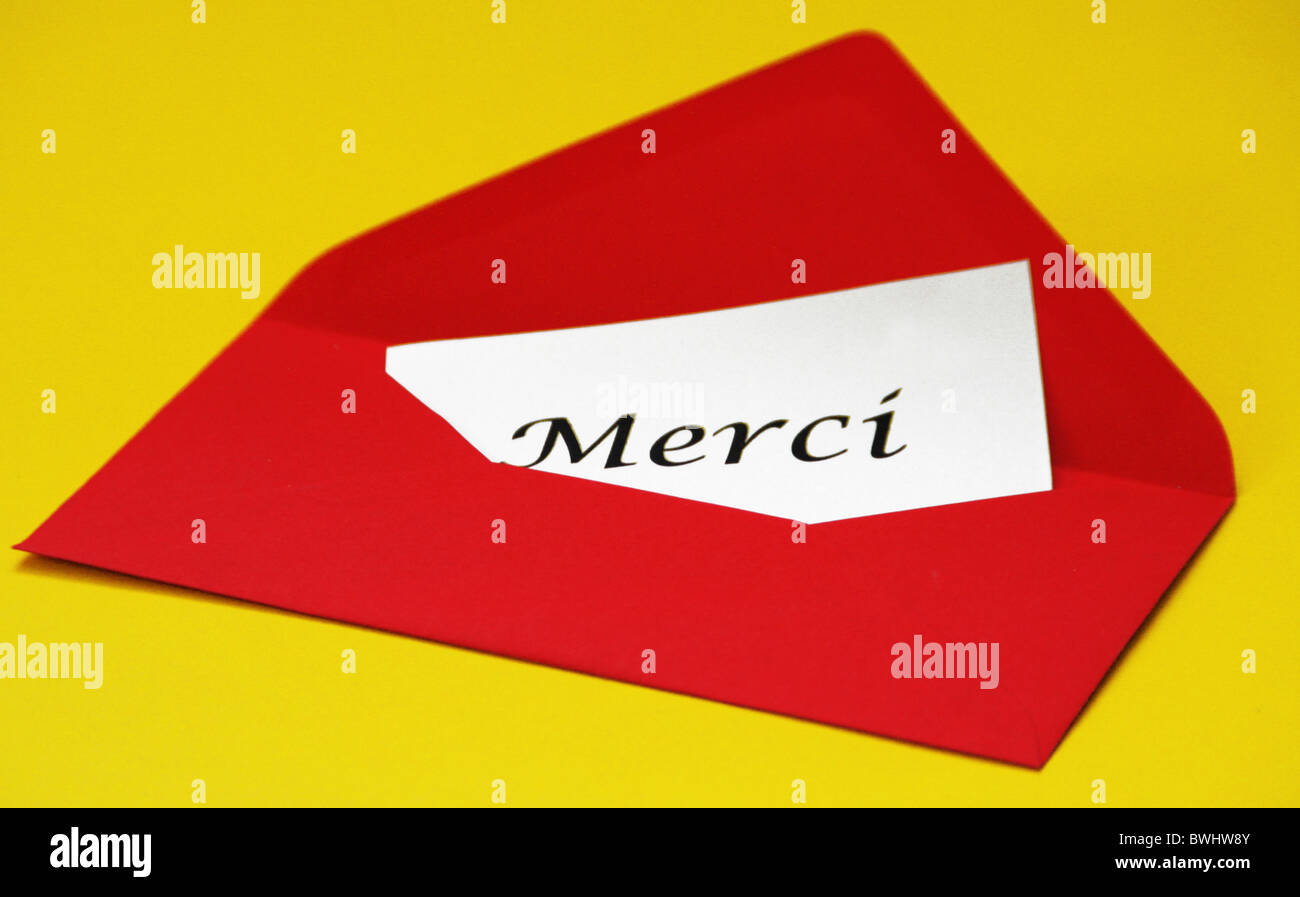 Merci french thanks thankyou thank thank slips of paper letter stock merci french thanks thankyou thank thank slips of paper letter message embassy envelope news tidings writ expocarfo Gallery