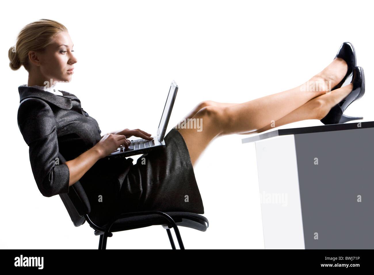Secretary With Legs Stock Photos Secretary With Legs Stock Images