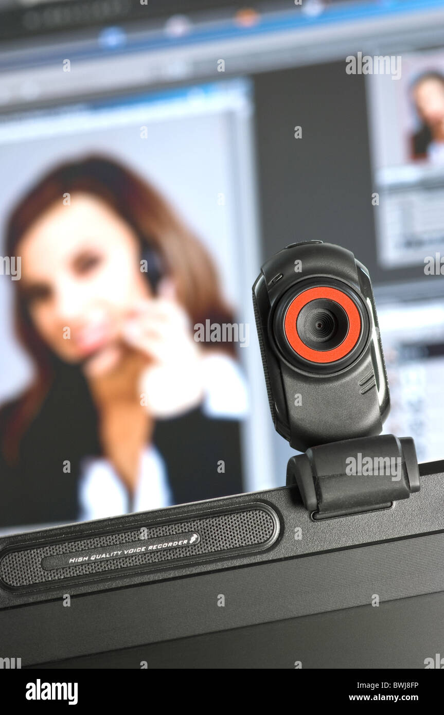 Webcam - Stock Image