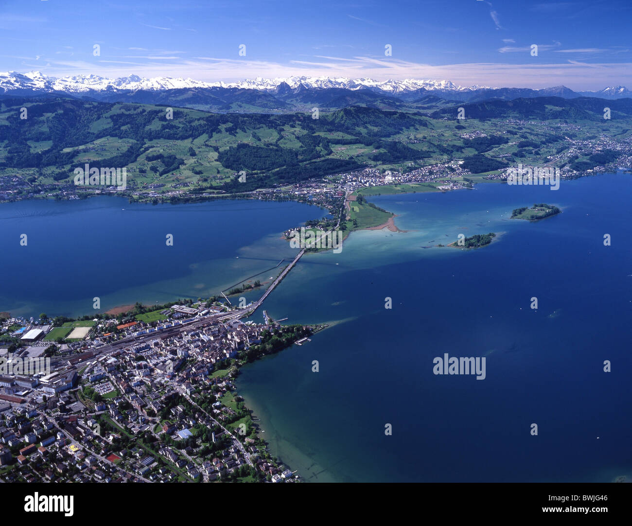 Rapperswil lake zurich obersee lake dam pfaffikon ufenau for Innendekoration pfaffikon zh