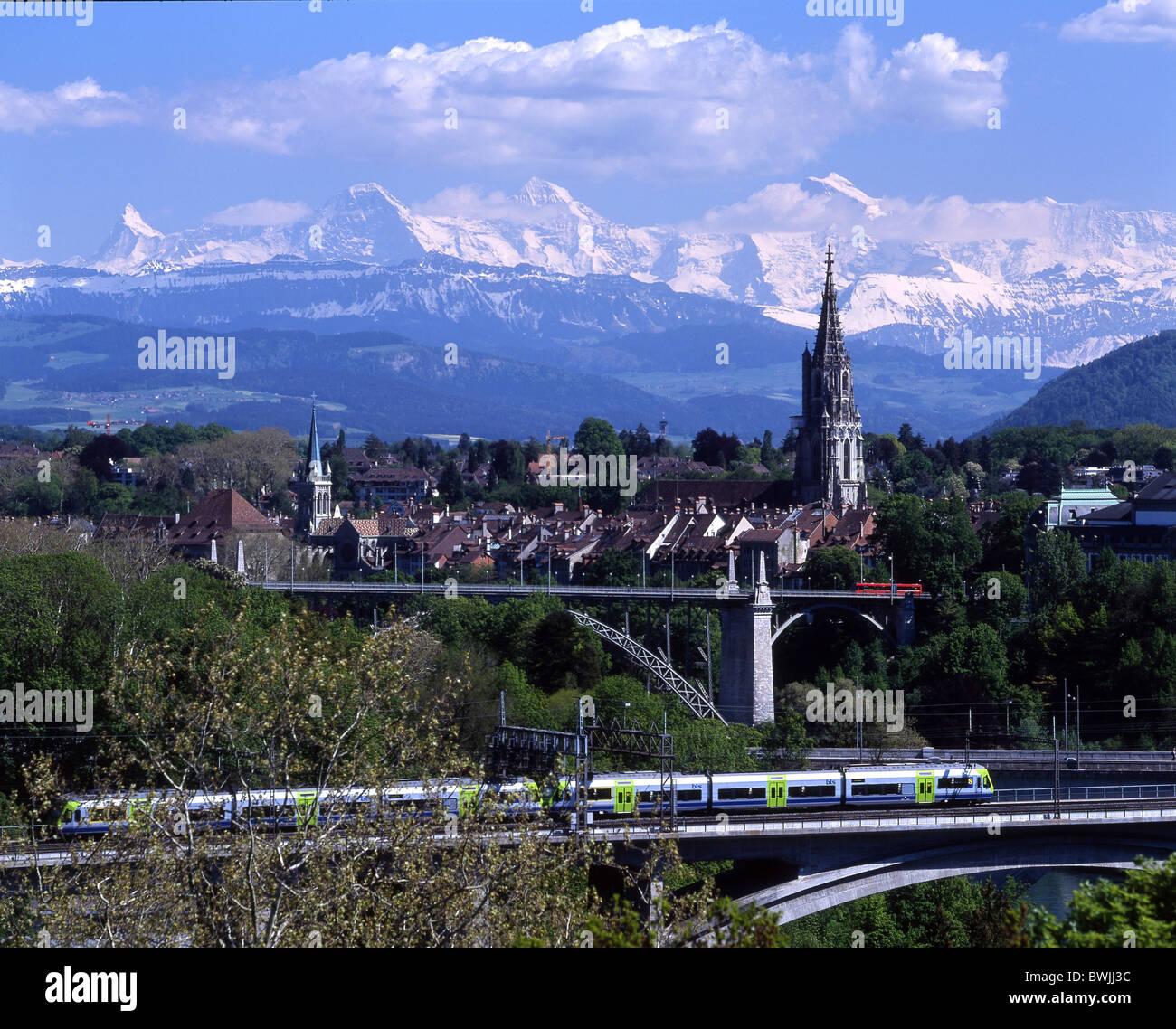 Town City Bern Bridges Old Stock Photos Town City Bern Bridges Old