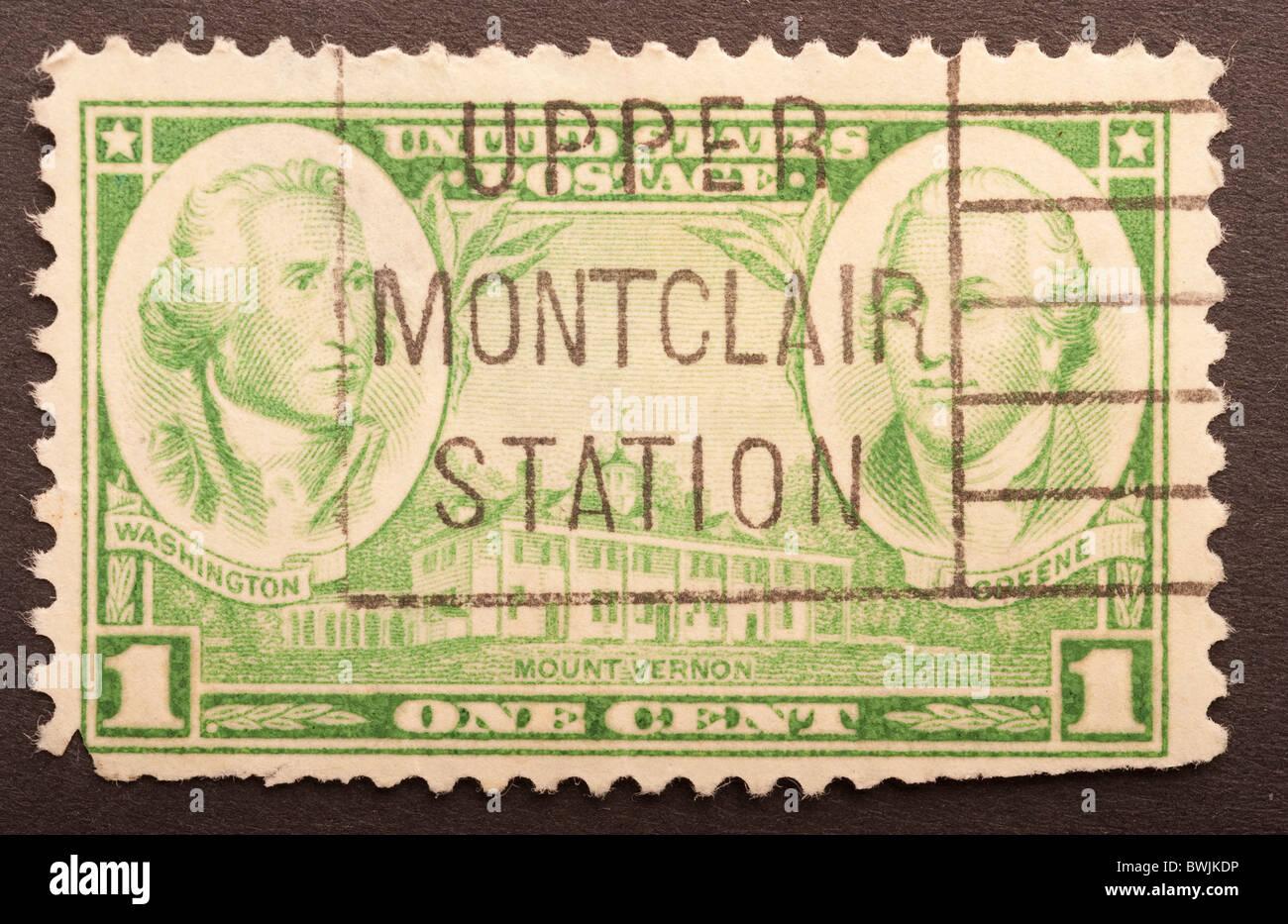 United States Postage 1 Cent