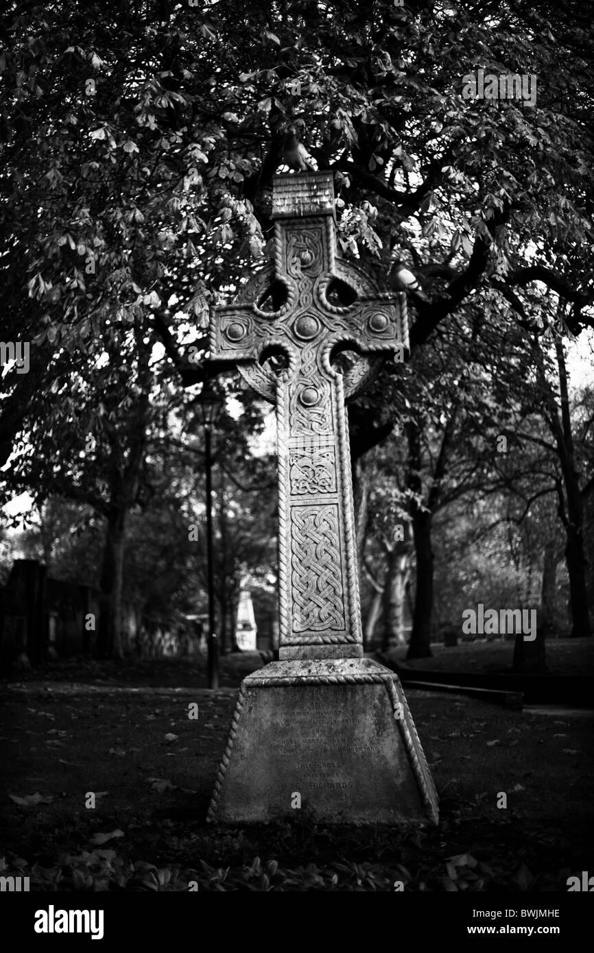 cross in hackney london - Stock Image