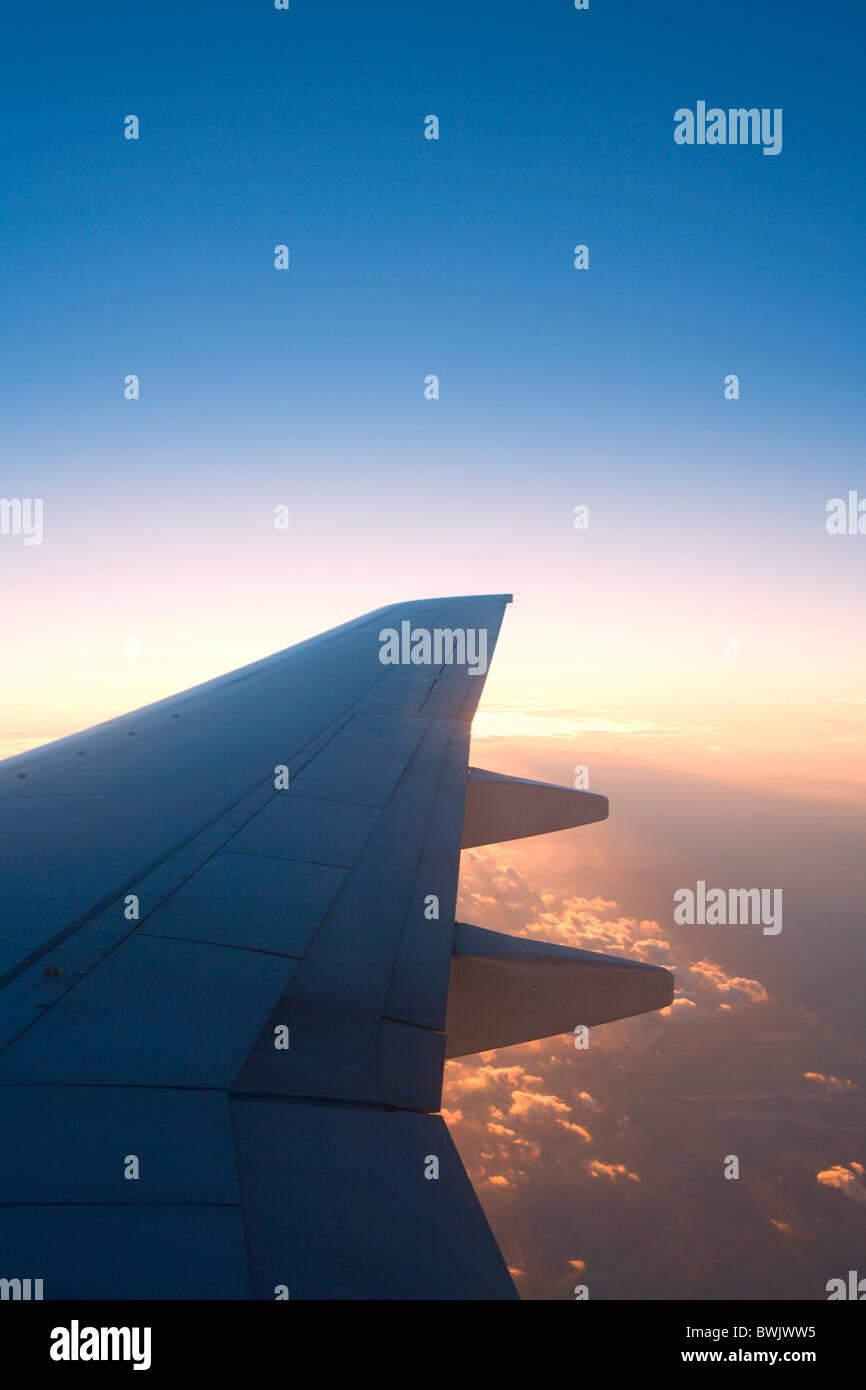 Aerodynamic Aeroplane Aeroplanes Air Aircraft Aircrafts Airliner Airliners Airplane Airplanes Altitude Atmo - Stock Image