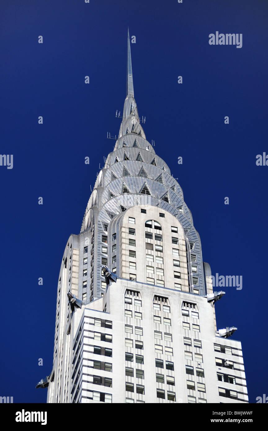The Chrysler Building New York City - Stock Image