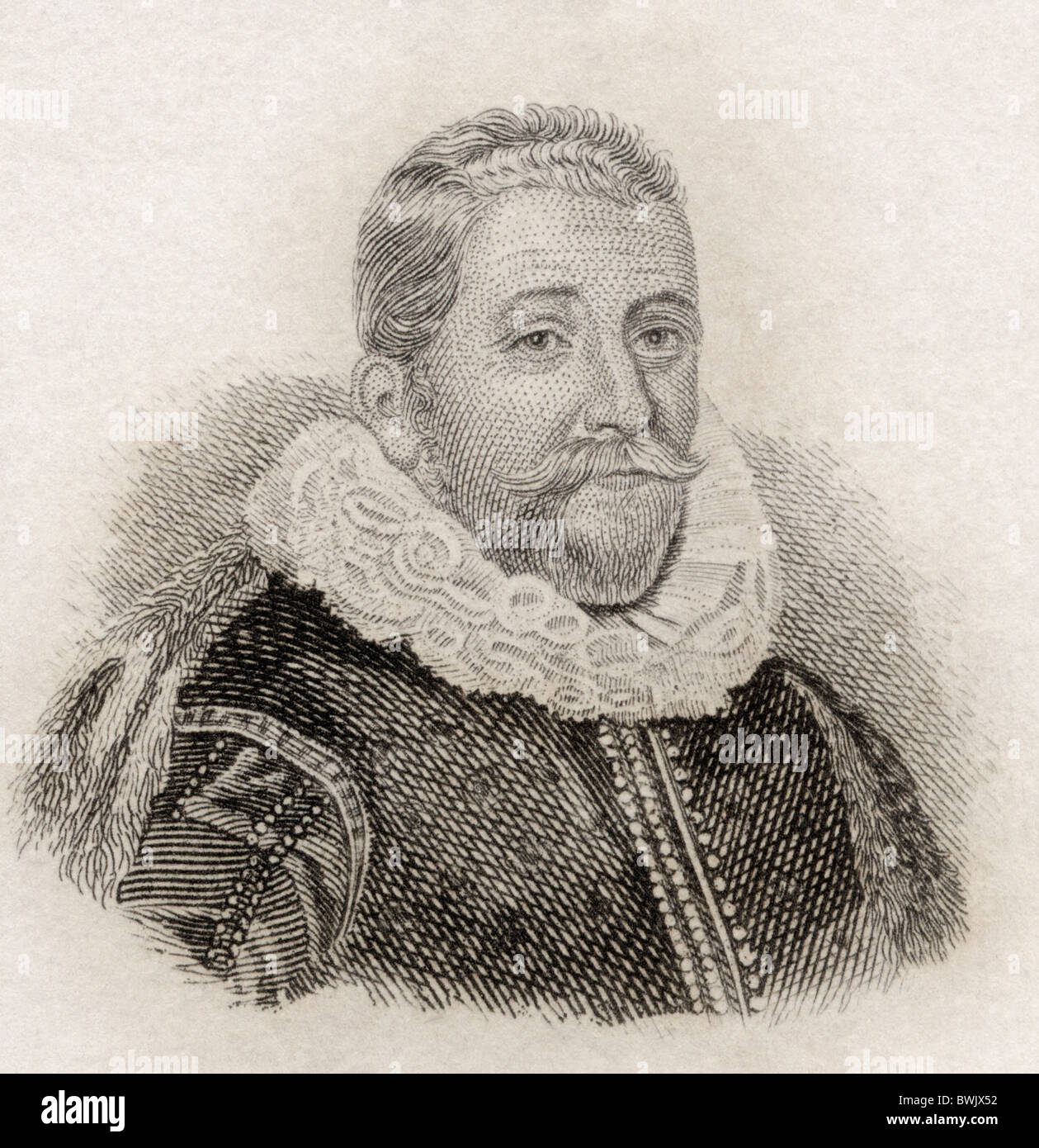 Sir Henry Wotton, 1568 to 1639. English author and diplomat. - Stock Image