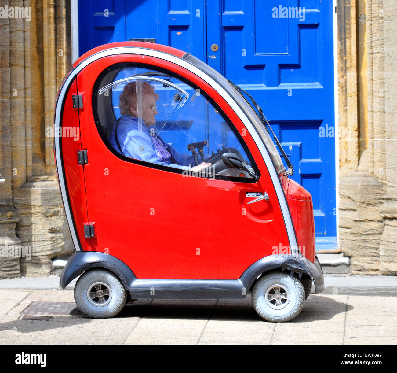 'Mobility scooter' UK - Stock Image