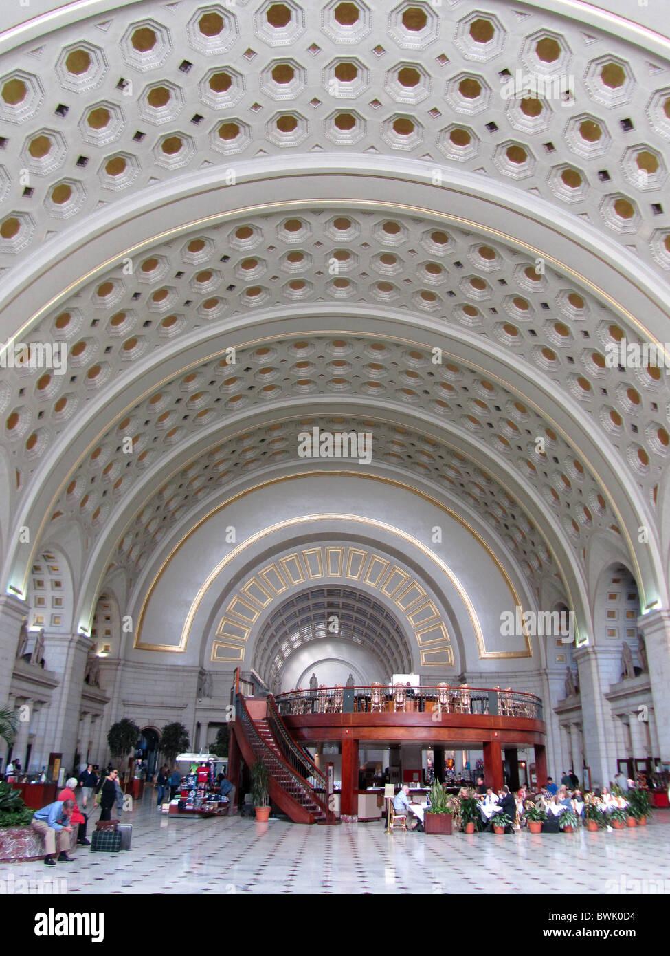 Union Station, Washington DC, USA - Stock Image