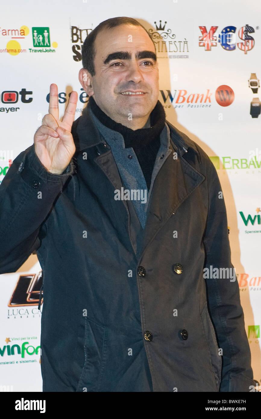 Elio, X Factor Red Carpet, Milan 2010 - Stock Image