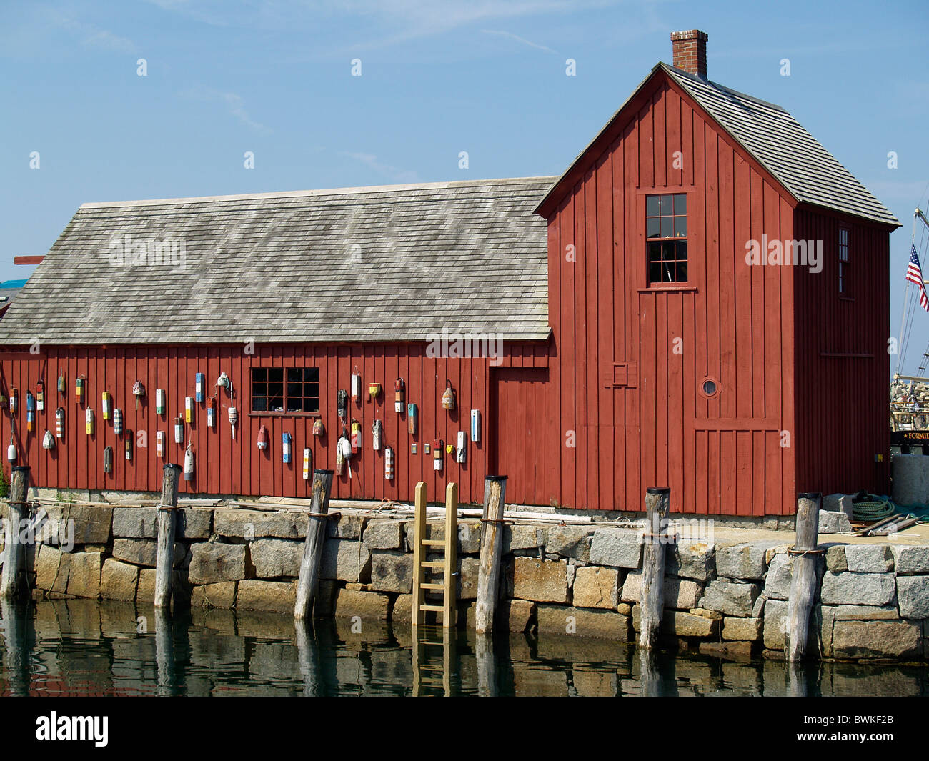 Motif #1in Rockport - Stock Image