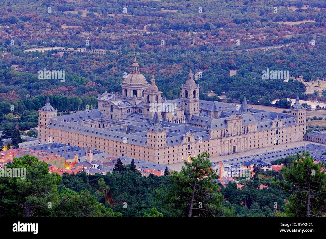 Spain Europe Region Area Madrid Real Sitio De San Lorenzo De El Stock Photo Alamy