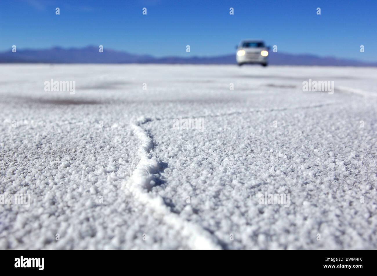 Argentina South America Salinas Grandes Near Tres Morros Salt Flats