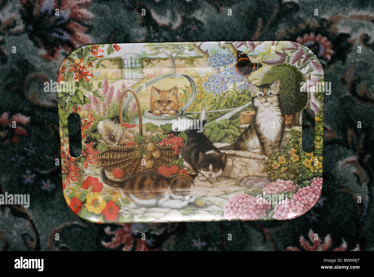 Kitsch tray - Stock Image
