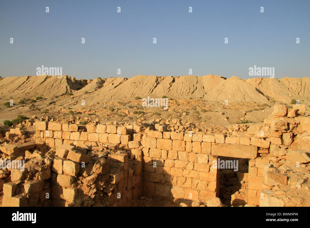 Israel, Tamar stronghold in the Negev - Stock Image