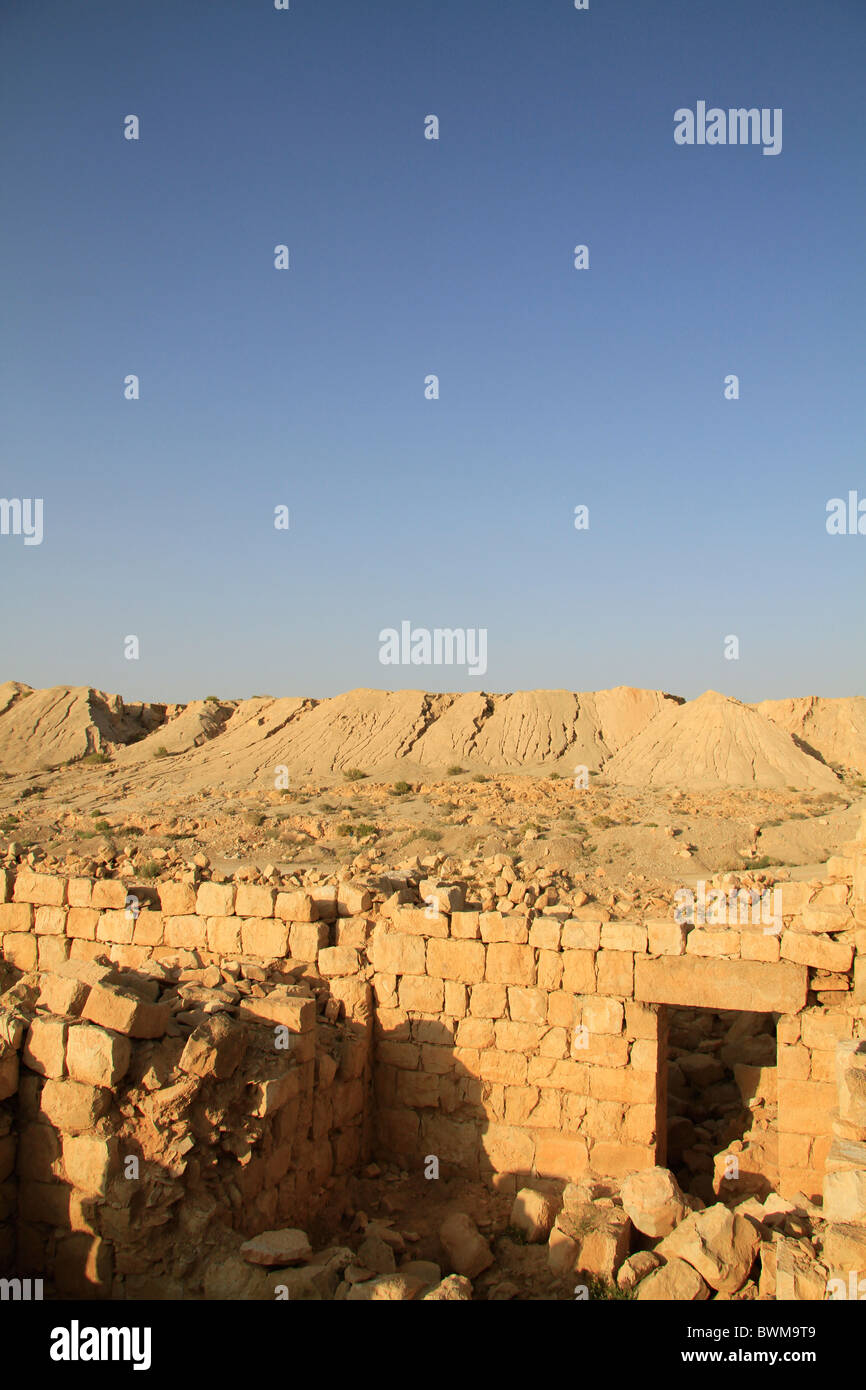 Israel, Tamar stronghold in the Negev Stock Photo