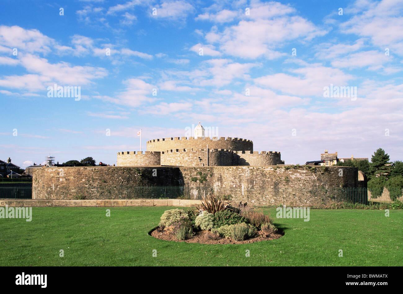 UK England Europe Kent Deal Tudor Deal castle Castles Historic United Kingdom Great Britain Europe history - Stock Image
