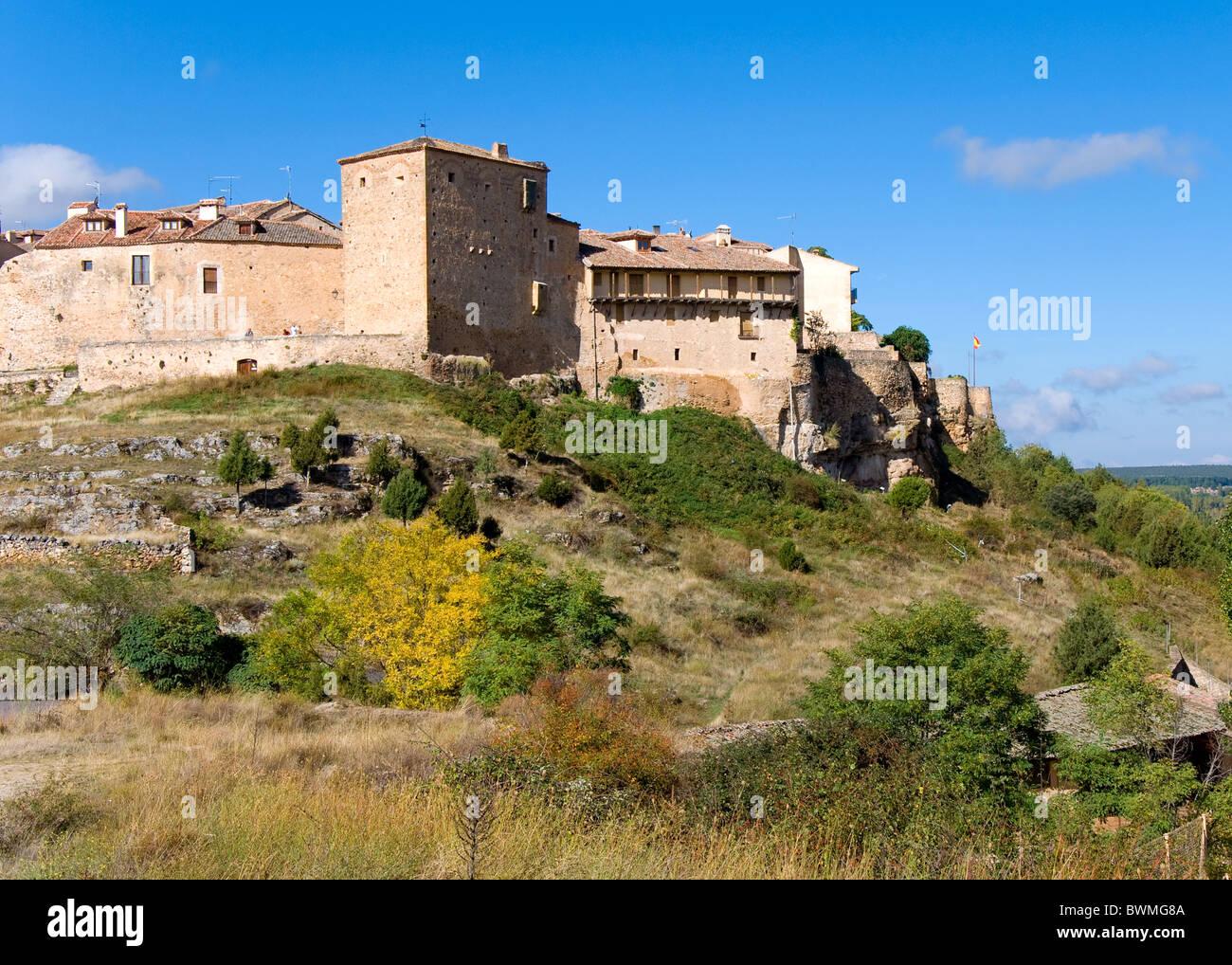Pedraza, Segovia, Castilla and Leon, Spain - Stock Image