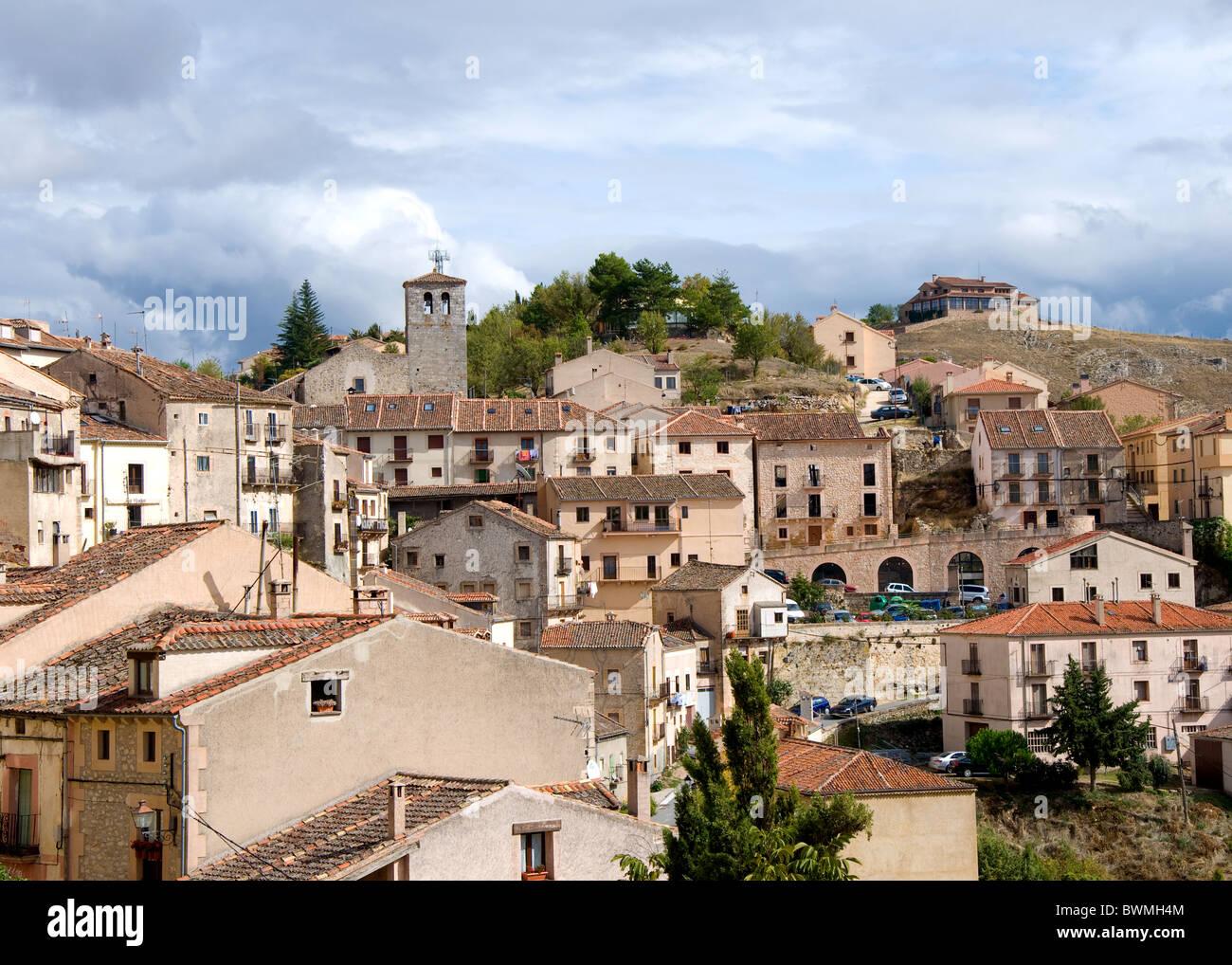 Sepulveda, Segovia, Castilla y Leon, Spain - Stock Image