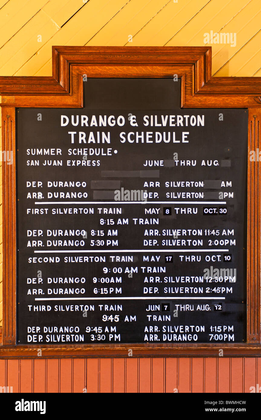 Durango depot stock photos durango depot stock images for The silverton