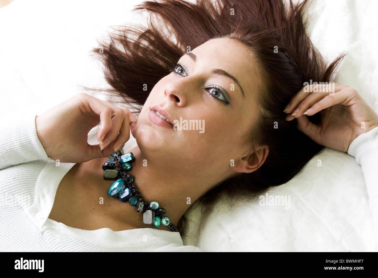 Teenage fantasize - Stock Image