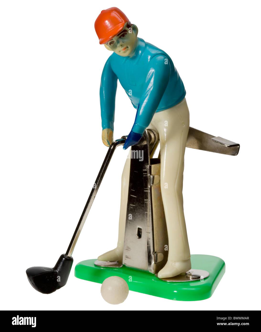 Carpet Golf child's game Stock Photo