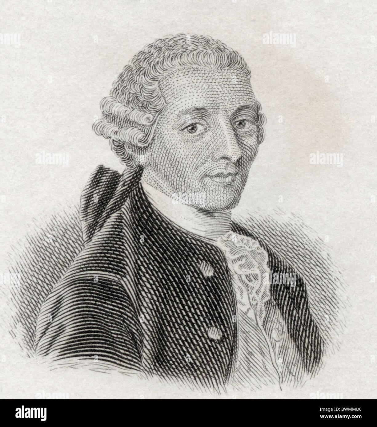 Franz Joseph Haydn, 1732 to 1809. Austrian composer. - Stock Image