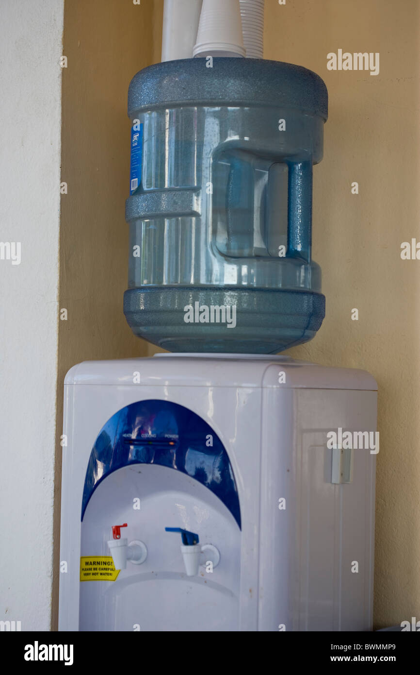 water cooler - Stock Image