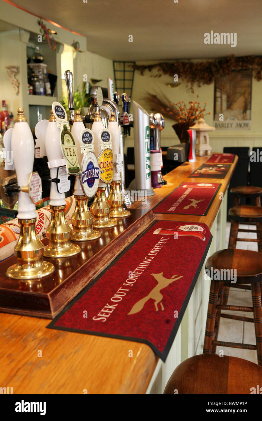 The Barley Mow Pub Stock Photo