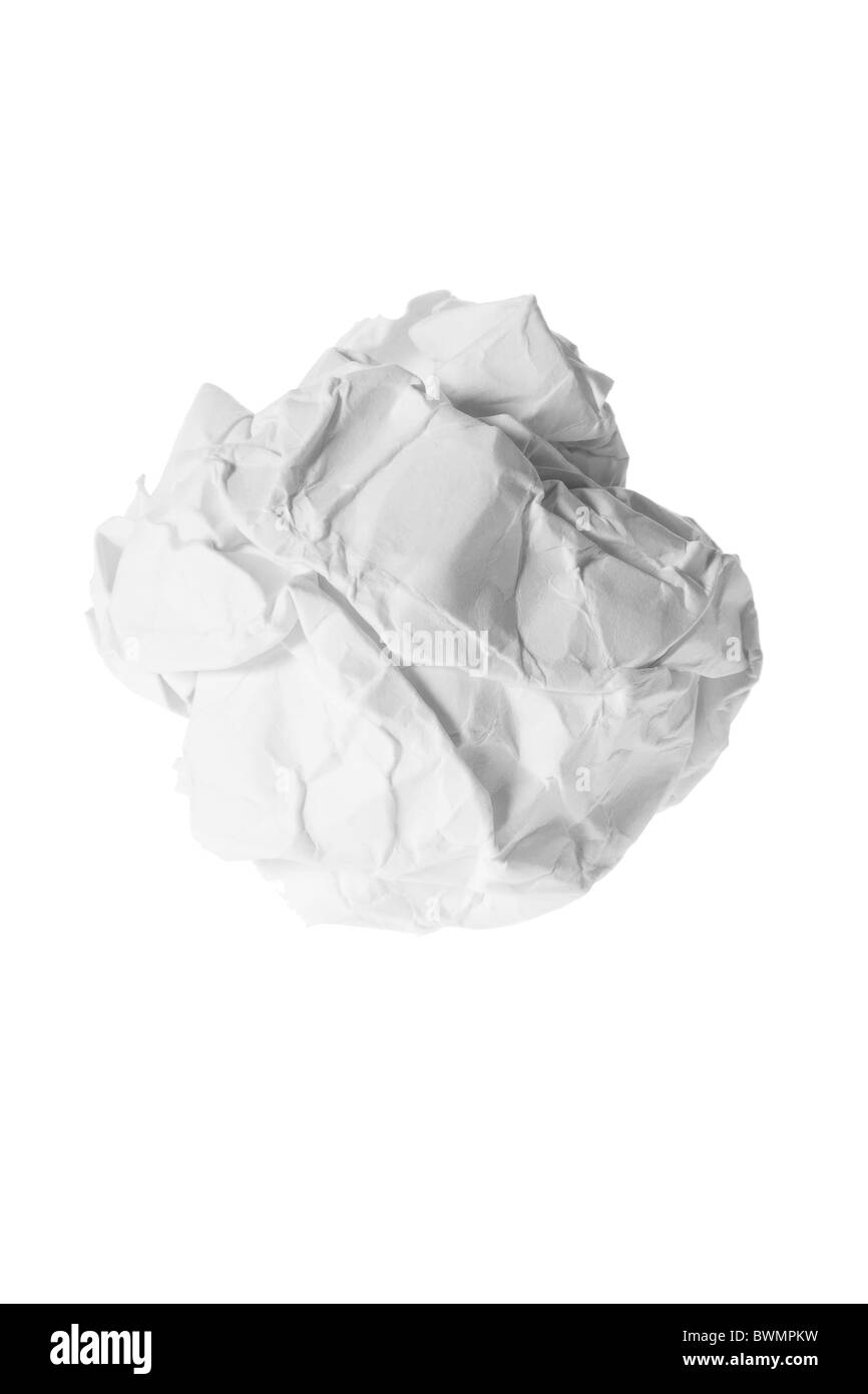 Paper Ball - Stock Image