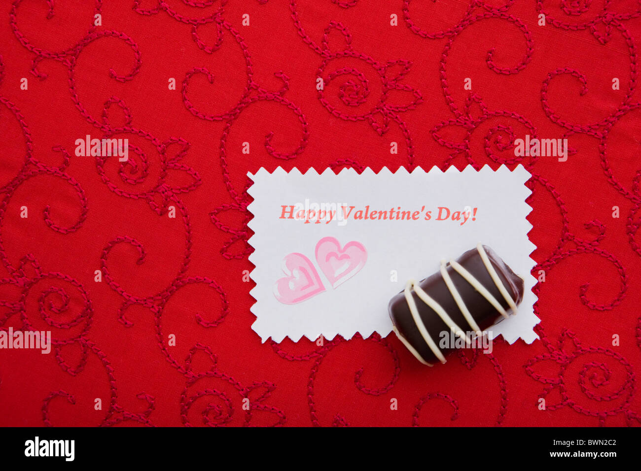 Valentines Day Greeting Card Stock Photos Valentines Day Greeting
