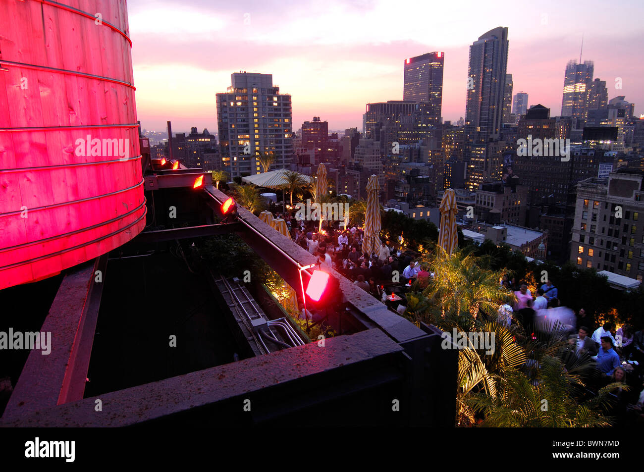 USA America United States North America New York Roof Top Bar Rooftop Bar  230 Fifth 5th Avenue Manhattan Vie