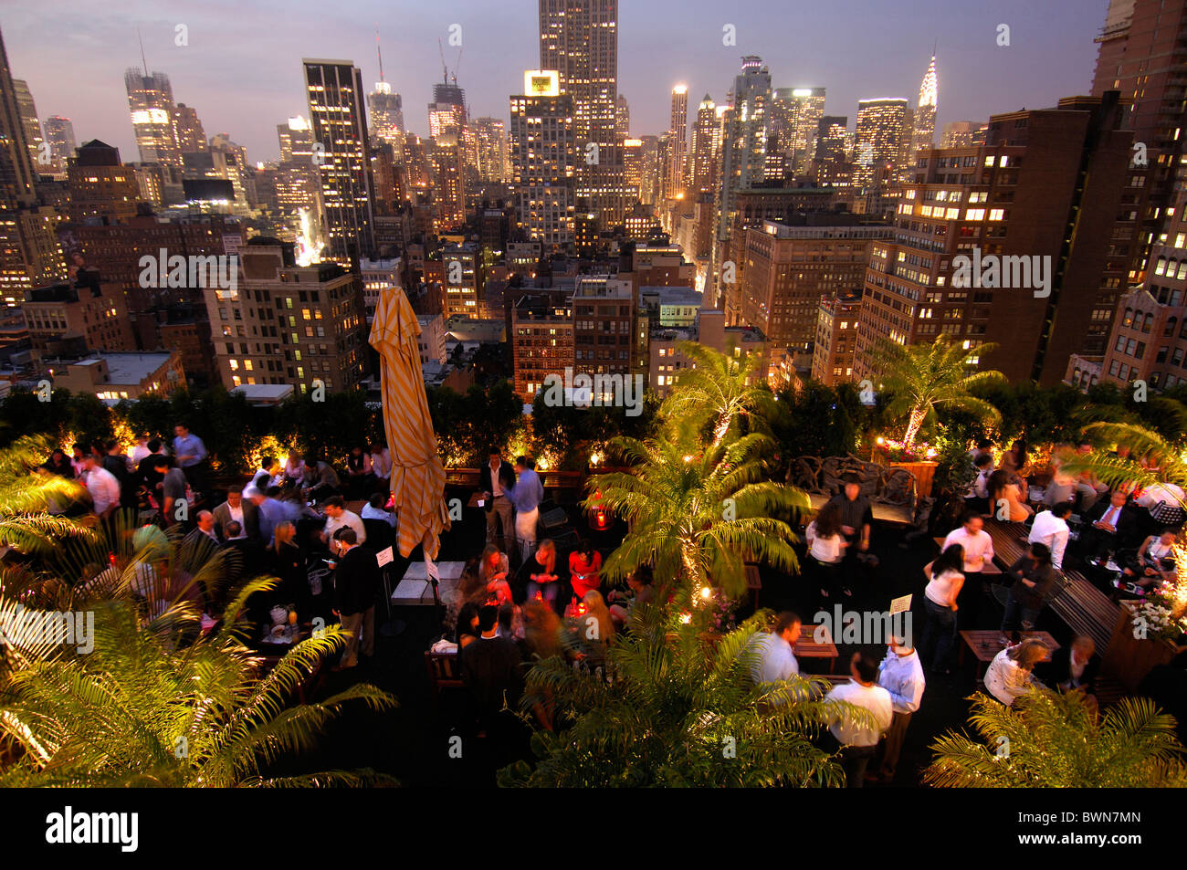 New York Roof Bar Stock Photos & New York Roof Bar Stock Images - Alamy