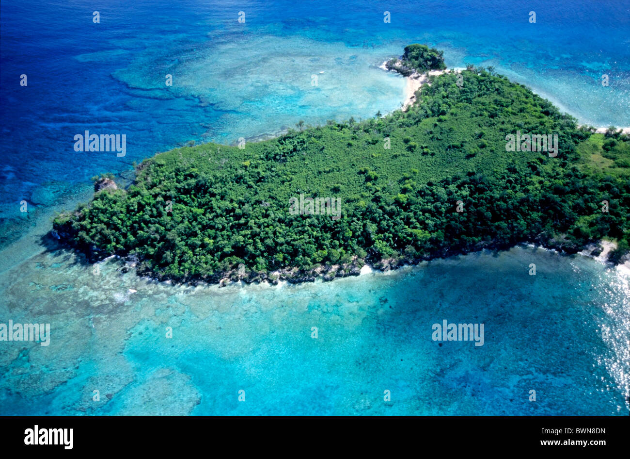 Mosso Island, Vanuatu, South Pacific Ocean. - Stock Image
