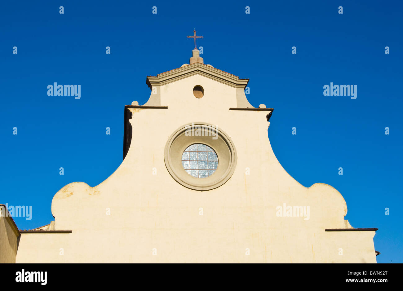 Church of Santo Spirito, Florence (Firenze), UNESCO World Heritage Site, Tuscany, Italy, Europe - Stock Image