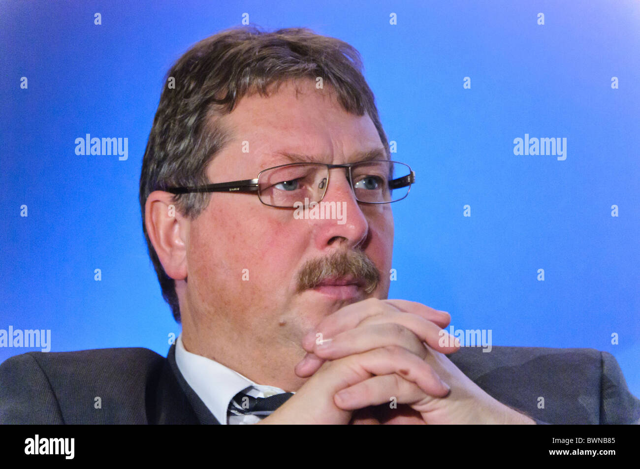 Sammy Wilson, DUP Party Conference. BELFAST 27/11/2010 - Stock Image