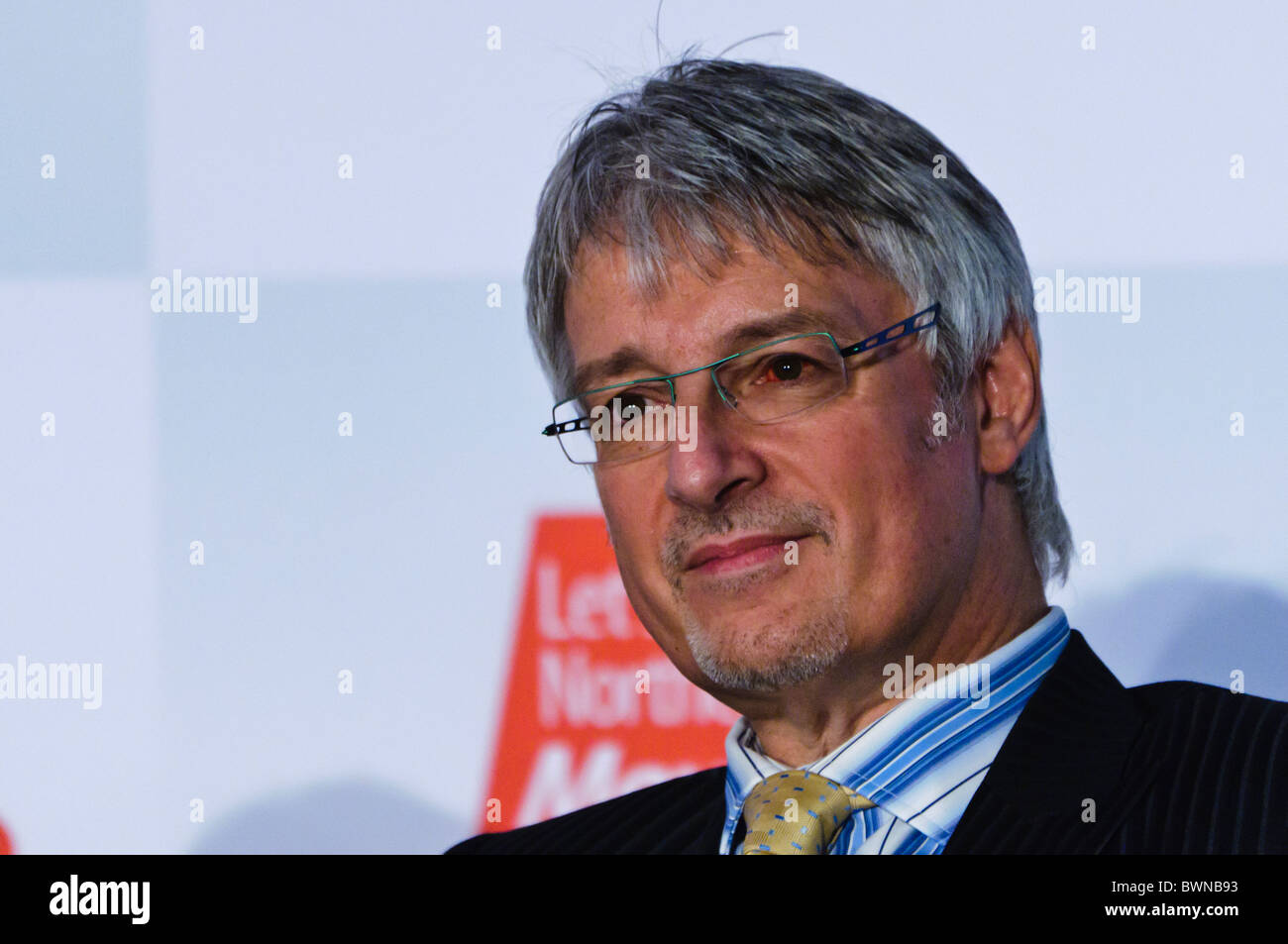 Mark Nodder, Managing Director of Wrightbus (retired April 2019), Ballymena.  BELFAST 27/11/2010 - Stock Image