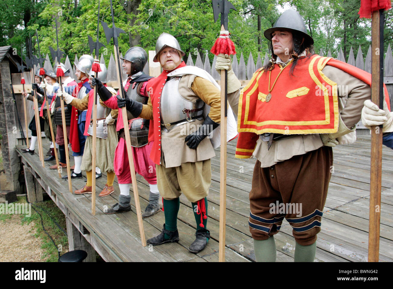 Settlers did the what of jamestown wear advise to wear for spring in 2019