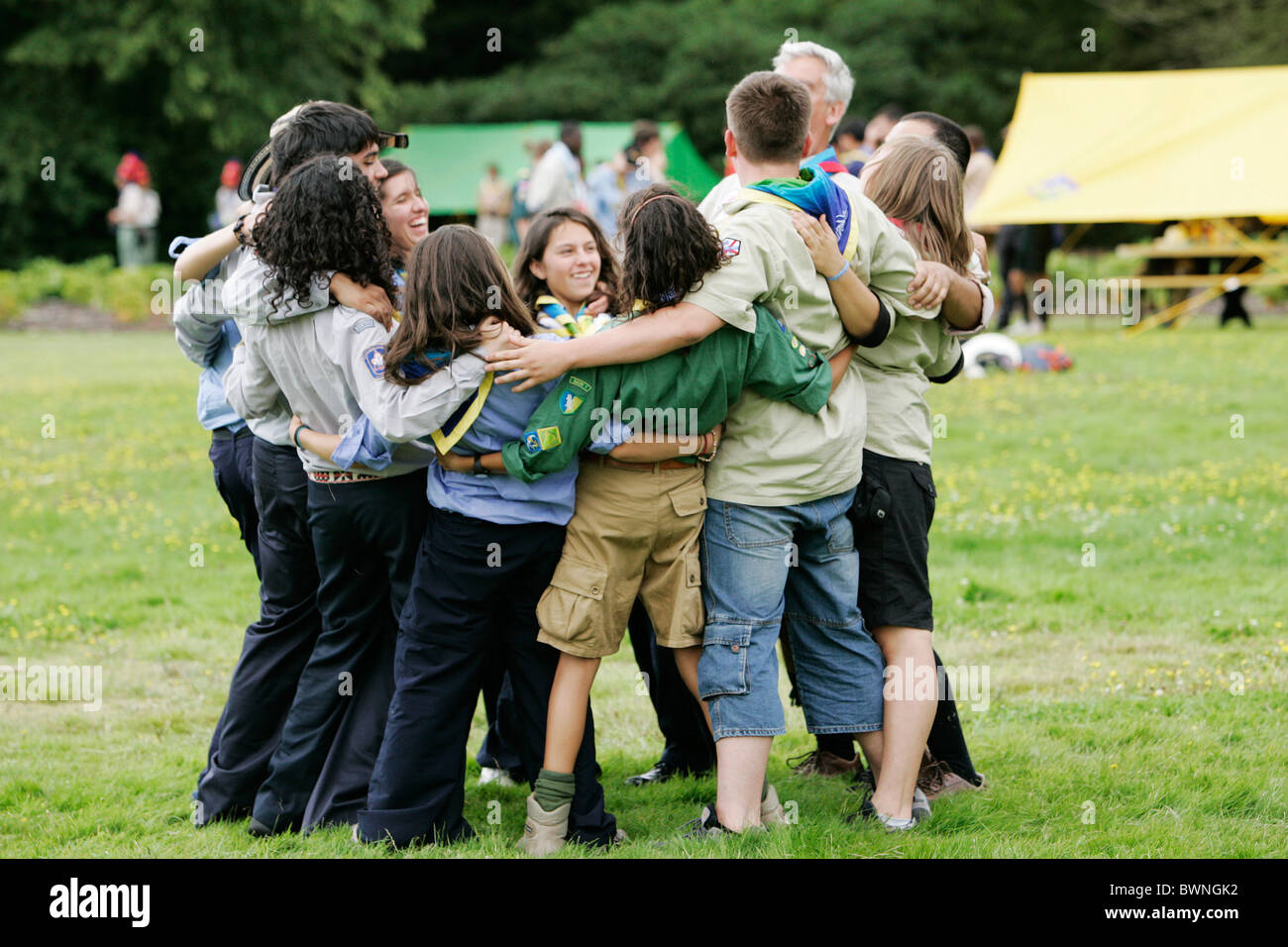 Scouts Group Stock Photos & Scouts Group Stock Images - Alamy
